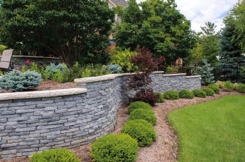 Michigan Retaining Wall Supply - Michigan Retaining Wall Supply Haley Stone Retaining Wall Systems