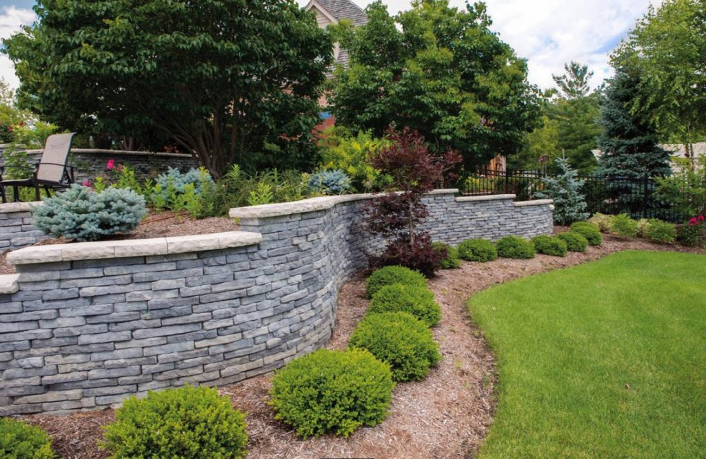Michigan Retaining Wall Supply